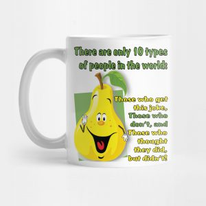 10 Types of People Mug