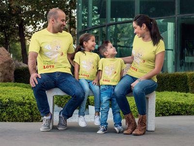love-tee-yellow