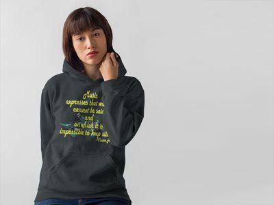 music-expresses-hoodie-grey